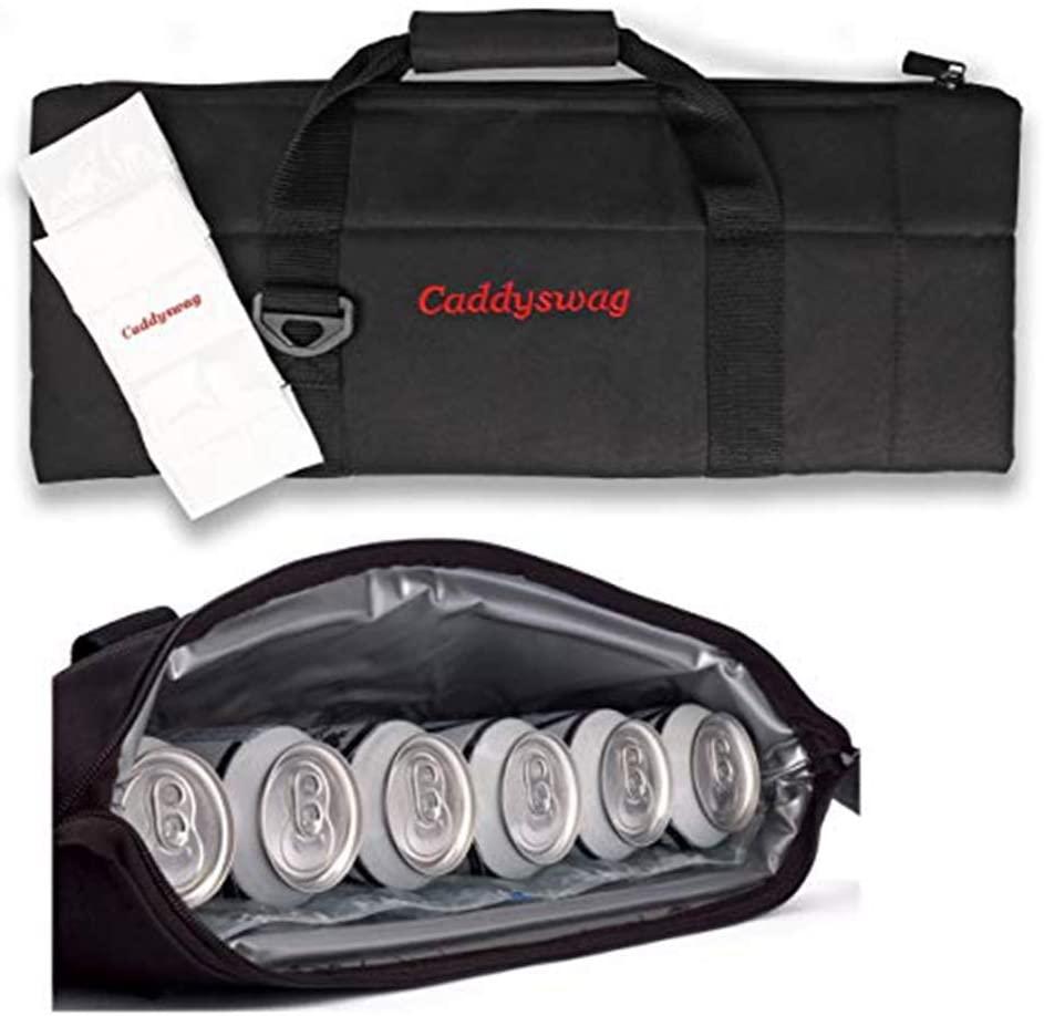Caddyswag Par 6 Pack Golf Bag Cooler - How to keep beer cold in golf bag