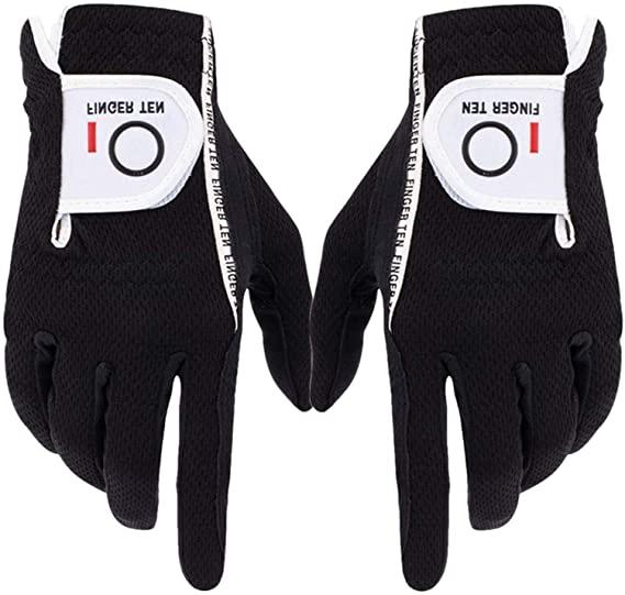 finger ten golf glove - one of the best golf gloves for sweaty hands