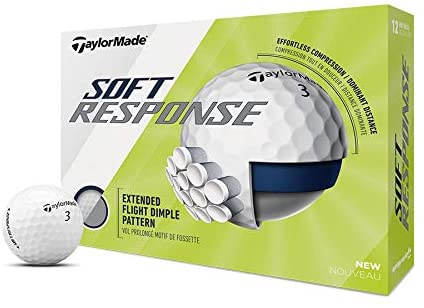TaylorMade Soft Response - One of the best golf balls for beginners and high handicappers