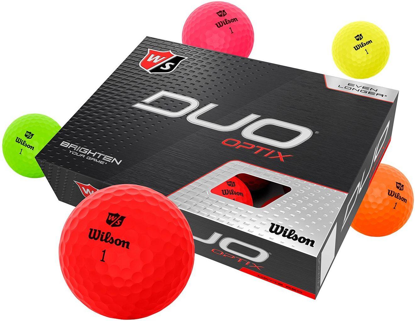 Wilson Duo Optix - Ranked one of our Best Golf Balls for Seniors