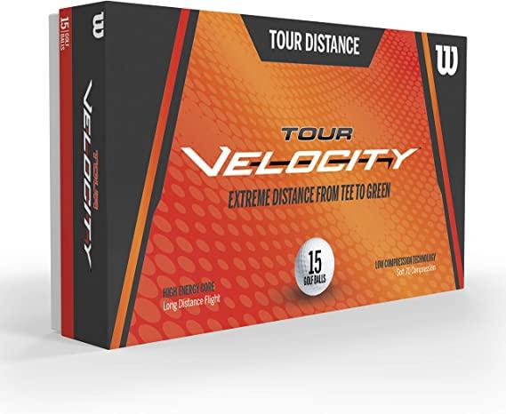 wilson tour velocity - one of the best golf balls for women