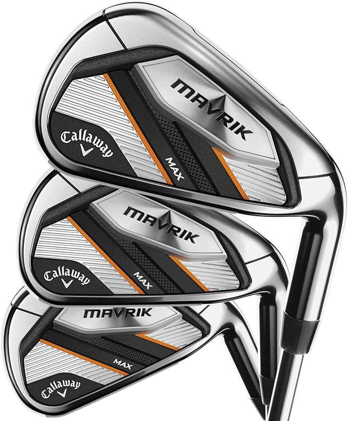 Callaway Mavrik Irons - Best women's golf clubs