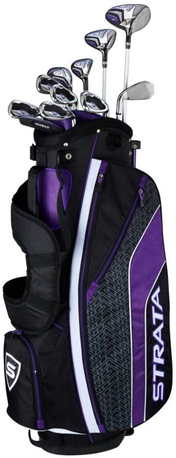 Callaway Women's Strata Plus Complete Golf Set 14 piece - the best women's golf clubs
