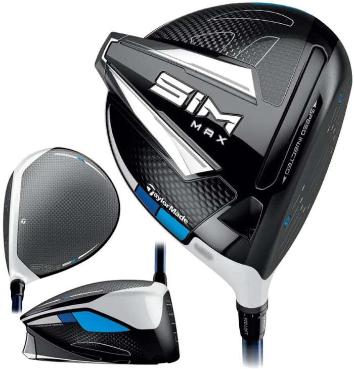 TaylorMade SIM Max Women's driver - best women's golf clubs