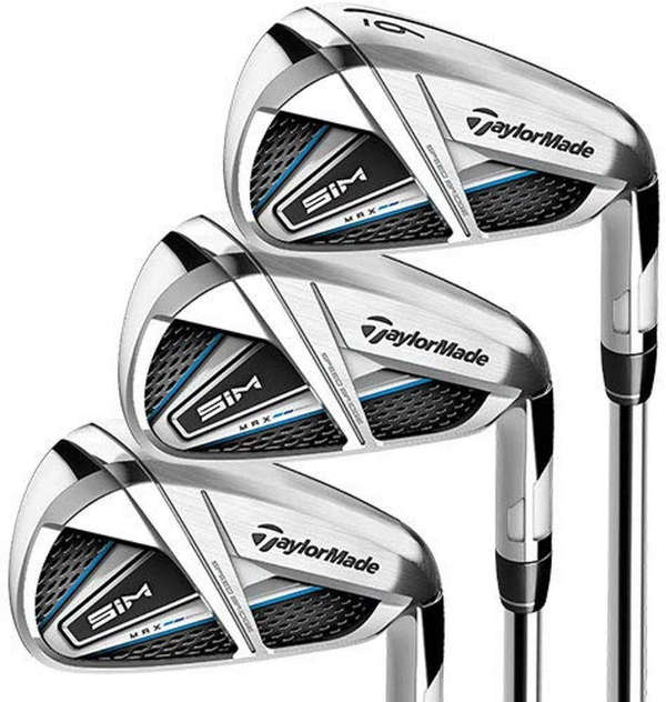 Taylormade SIM Max Irons - best womens golf clubs