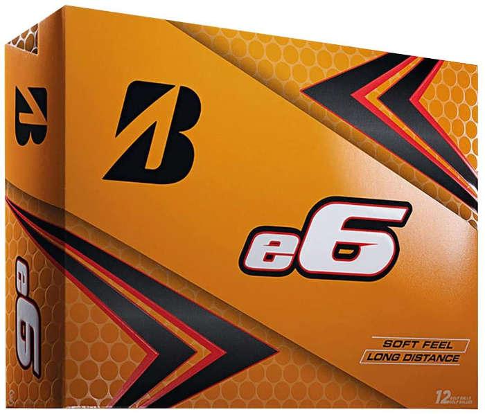 Bridgestone e6 - best golf ball for slow swing speed