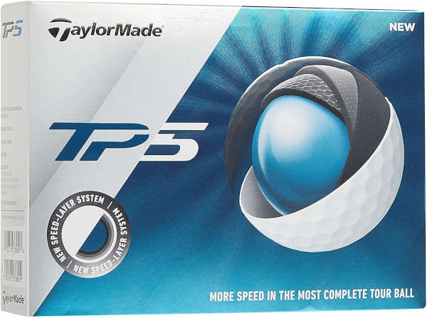 TaylorMade TP5 - the best golf ball for 90 mph swing speed