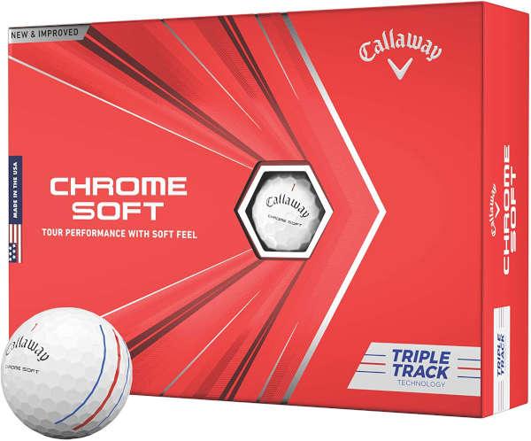 callaway chrome soft - best golf ball for 90mph swing speeds