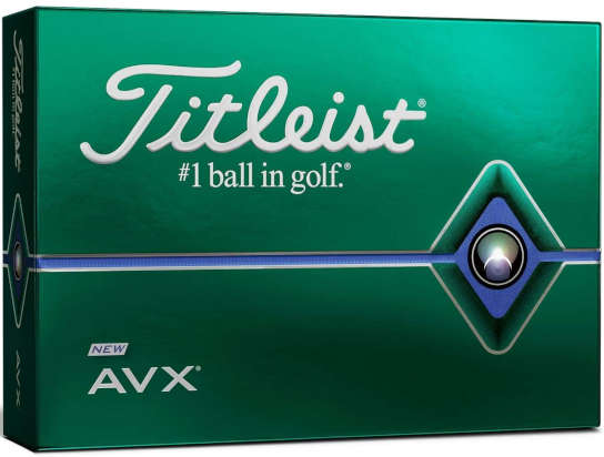 titlelist avx - one of the best golf balls for 90mph swing speed