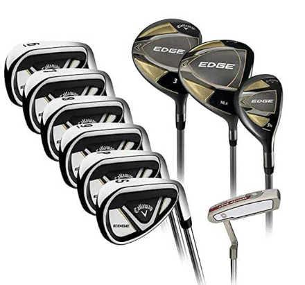 Best golf clubs for beginners - Callaway Edge 10-Piece Golf Set